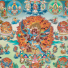 Mandala of Peaceful and Wrathful Deities